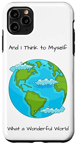 iPhone 11 Pro Max What A Wonderful World: Earth Case