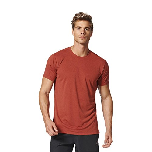 adidas Herren Freelift Climachill T-Shirt, Chill Myst Red/Mb Dd, M