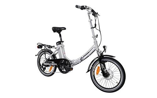 41C6NbTchIL - e-motos Alu Pedelec K20 Faltrad Klapprad E-Bike mit Panasonic Akku
