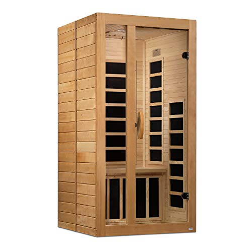 Maxxus Gracia 1-2-Person Low EMF (Under 8MG) FAR Infrared Sauna, Curb Side Delivery
