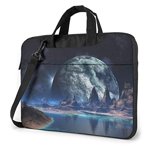 Laptop Case Computer Bag Sleeve Cover Dream Space Painting Waterproof Shoulder Briefcase 13 14 15.6 Inch