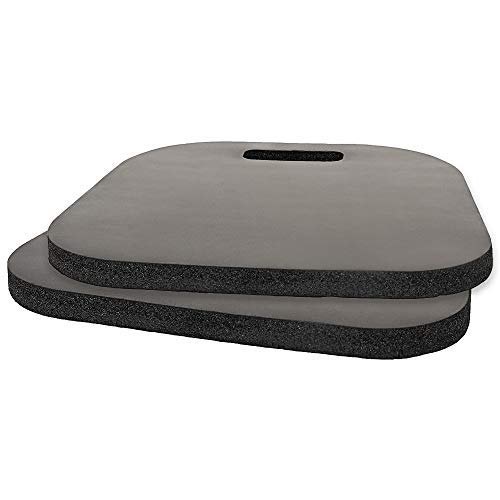 2 PACK Seat Cushion,Sport Cushion Memory Foam Sporting Event Seat Pad with Carry Handle for Boat Stadiums Bleachers Chairs Seat