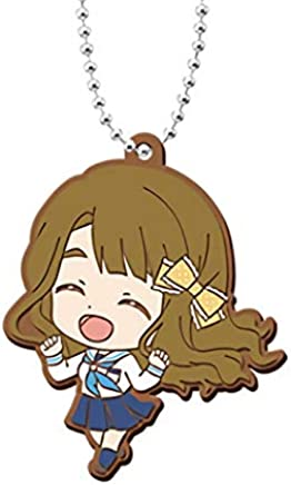 Idolmaster Million Live Elena Shimabara Gacha Capsule Rubber Mascot Key Chain