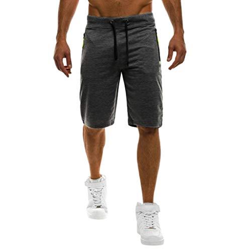 Binggong Sport Joggen Training Shorts Fitness Kurze Jogging Hose Solid Bermuda Comfort Bodybuilding SweatshortsSporthose