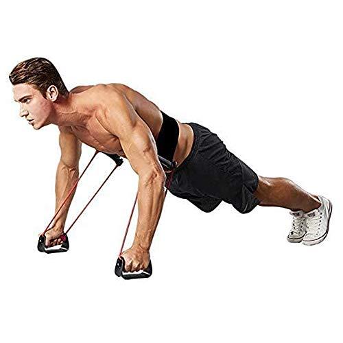 Feishibang Barras de Empuje estables Banda de Resistencia Power Push Up Plus con 24 Niveles de Resistencia Entrenamiento Equipo para músculos de Espalda, Hombros, Pecho y Brazos
