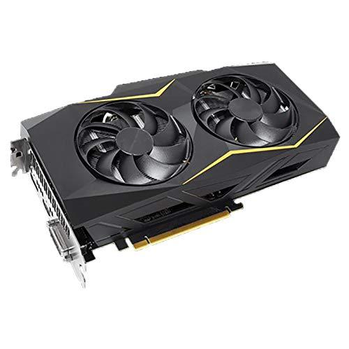 WSDSB Fit for ASUS GTX1660-O6G-SI NVIDIA ® GeForce GTX 1660 192BIT 6GB GDDR5 Scheda Video Scheda Grafica di Raffreddamento Scheda Grafica del Computer