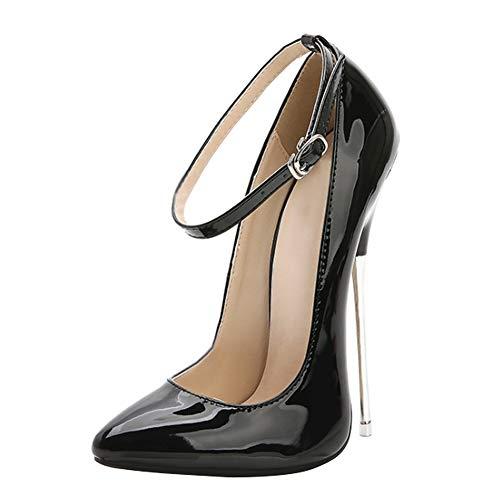 Yiliankeji Schuhe Spitz High Heels - Stiletto Damen Pumps Mode High Heels Spitz Sexy 16CM Party Elegant Abendschuhe