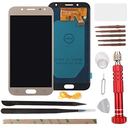 West Dragon - Pantalla táctil LCD para Samsung Galaxy J5 2017, incluye herramientas para Samsung Galaxy J5 2017, J530, SM-J530F, color dorado