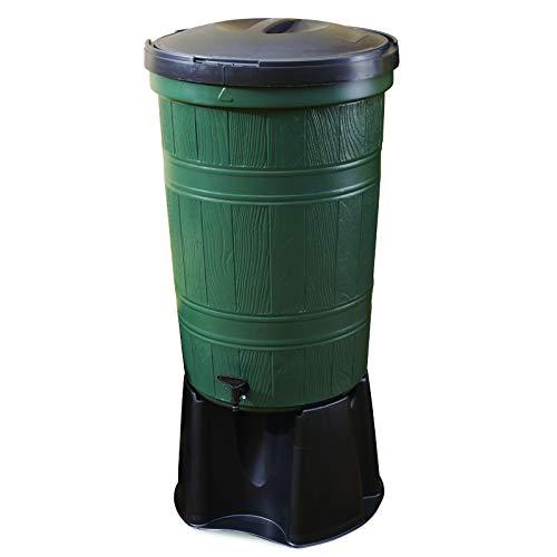 Oipps 200 Litre Green Water Butt