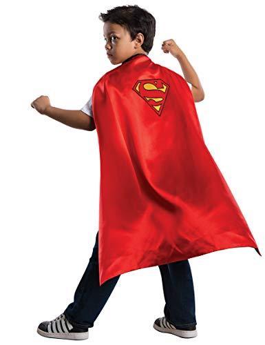 Generique - Superman-Umhang Superhelden-Accessoire für Kinder rot-gelb