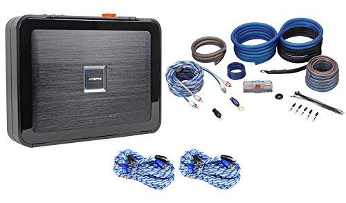 Alpine PDX-V9 900 Watt RMS 5-Channel Car Audio Class D Amplifier+Copper Amp Kit
