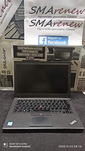 Ordenador portátil Lenovo Thinkpad X250 Intel Core i5 5300u 2,30 GHz 8 GB RAM 120 GB SSD Windows 10 Pro (reacondicionado con certificado de autenticidad)