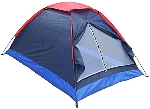 LAZ Tent for Camping Backpacking Tent 2-Man Lightweight Tent Waterproof Double Layer Dome Tent Outdoor Camping Hiking Tent for Climbing Fishing Survival Festivals Garden
