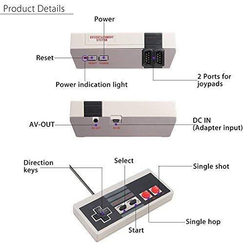 AV and HDMI Universal Computer Game 9-pin Console 4-Button Controller Gamepad for AV and HDMI Universal Computer Game 9-pin Console (1 PCS)