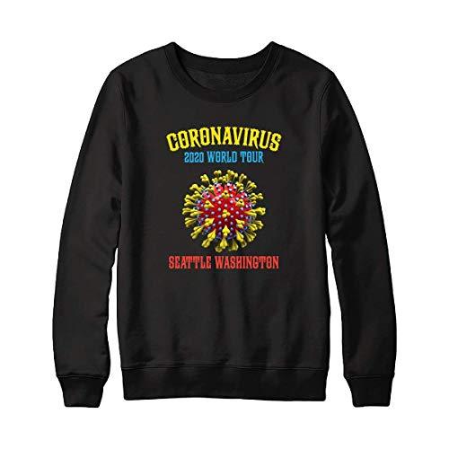 Cooronavirus 2020 World Tour Seattle Washington Tee For Men – Hot Vintage Retro Classic Sweatshirt For Women Córónávírús 2020 World Tour Best Tee Cust Sweatshirt 5065