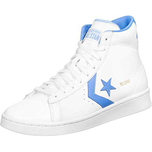 Converse Pro Leather Mid Schuhe White/Blue