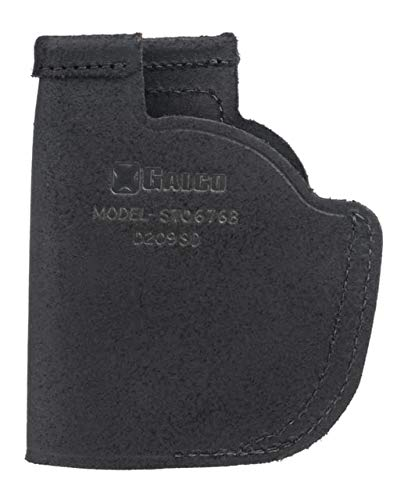 Galco Stow-N-Go Inside The Pant Leather Holster for Viridian w/ECR,SW MP Shield,Right STO676B