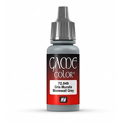 Vallejo Game Color - Colore Acrilico, 17 ml, Grigio (Stonewall Grey)
