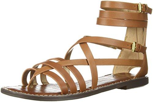 Sam Edelman Women's Ganesa Sandal, Saddle, 6.5 M US
