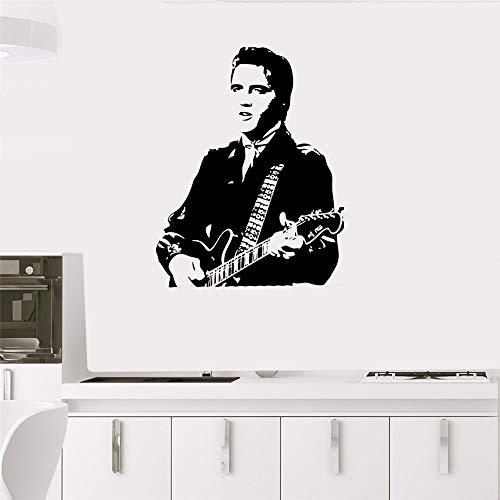 Wandtattoo Wandaufkleber Elvis Presley Guitar Decal Wohnkultur Boy Schlafzimmer Wohnkultur