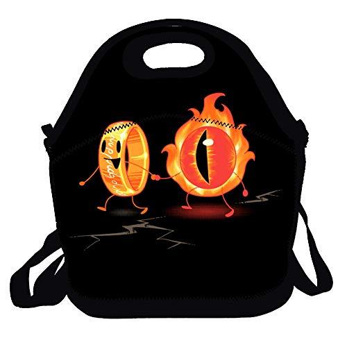 Feddiy Best friends! Women, Men, Kids, Girls, Boys, Adults Lunch Box Bag Lunch Tote With Shoulder Strap
