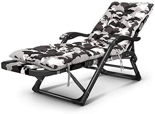 DAGCOT Tumbona de jardín Sillas de Ruedas Plegable Silla sillas reclinables Tumbona Tumbona reclinable Ajustable Tumbona Plegable del Asiento reclinable (Color : T4)