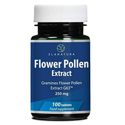 Extracto de polen de centeno (Graminex™ Flower Pollen Extract) Suplemento para la próstata con extracto de polen de centeno, 100 tabletas