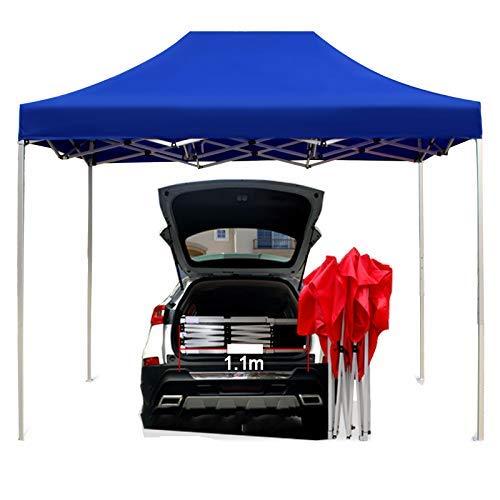 Seasons Folding Gazebos 3x3m Heavy Duty Pop-Up Canopy Tent Portable Height Adjustable Aluminum, Fully Waterproof Anti-Uv LDFZ