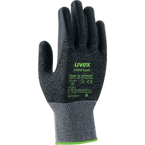 Uvex C300 Foam Schnittschutzhandschuhe - 1 Paar Schnittfeste Arbeitshandschuhe 09/L
