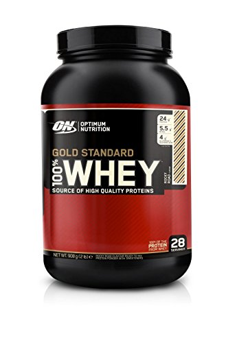 Optimum Nutrition 100% Whey Gold Standard, 2 lb (Vanilla Ice Cream)