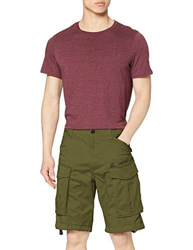G-Star Raw Rovic Zip Relaxed 1/2-length Shorts Pantalones Cortos, Negro (Sage 724), 34W para Hombre