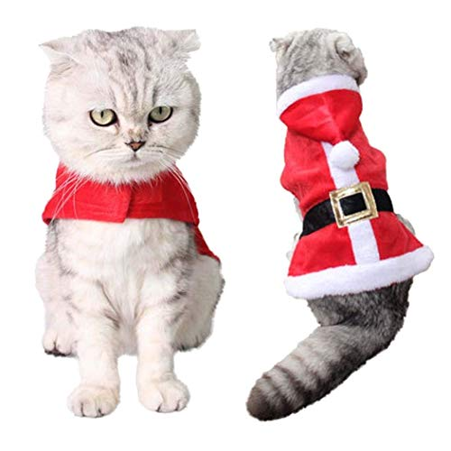 Traje Gato Navidad marca LLYU Ropa para mascotas