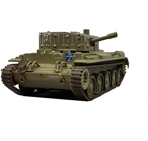 Yxxc Kits de Modelos para Adultos Modelo de plástico de Tanque Fundido a presión a Escala 1/72, Tanque Cromwell MKIV Cromwell soviético de la Segunda Guerra Mundial, Juguetes y Regalos Militares,