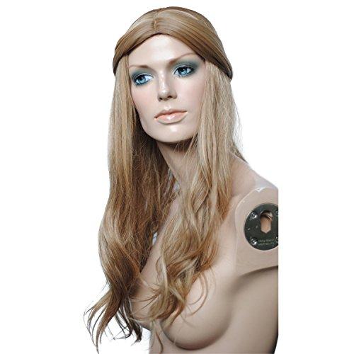 ahom (Mesdames européenne haute température Fil Femelle cheveux Fashion Perruques Fashion Perruques Mélange femelle Perruques