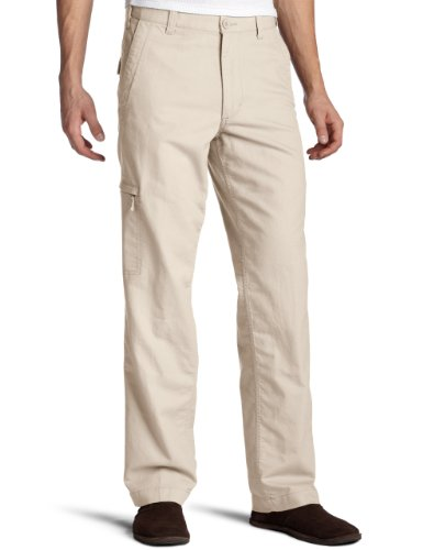 Dockers Men's Alpha Khaki Pant, Light Buff, 36W x 30L