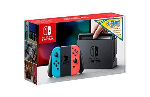 Nintendo Switch Console Edizione Limitata, Rosso Blu Neon