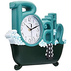 New Haven 1572GR-REMAIL Bath Clock