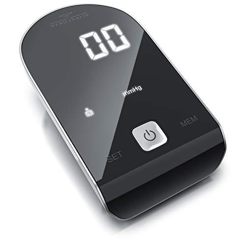 Medicinalis - Blutdruckmessgerät Oberarm mit Manschette - automatisch - Blutdruck- und Pulsmessung - 2 Profile – 90 Messdaten – automatische Abschaltung – Manschette 22 – 42 cm – Arrhythmie