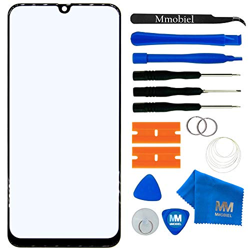 MMOBIEL Front Glass Repair kit Compatible with Samsung Galaxy A30 A305 2019 6.4 inch (Black) Display incl Tools