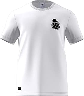 adidas Mens Soccer Real Madrid Graphic Tee F1806LHRM100Y, Mens, Soccer Real Madrid Graphic Tee, F1806LH