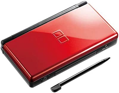 Nintendo DS Lite Console System in Crimson Red & Black