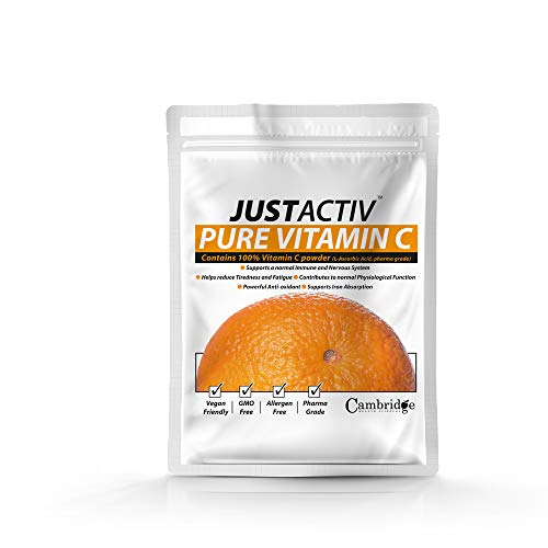 JUST ACTIV Pure Vitamin C Powder 250 g