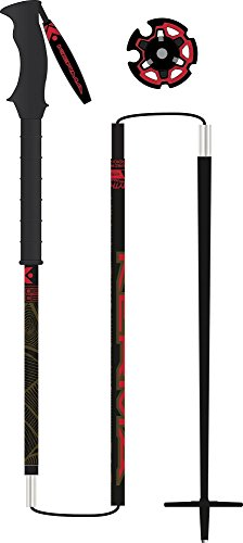 Kerma - Bâtons De Ski Vertical Pro Foldable - Mixte - Taille 115 - Noir