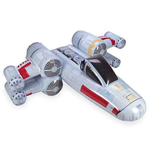 SwimWays Star Wars X-Wing Fighter Inflatable Ride-On Float