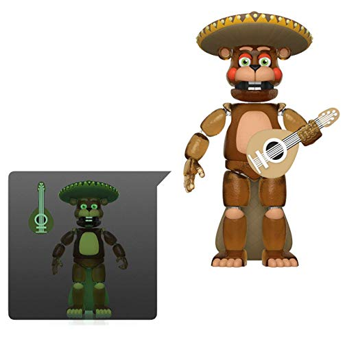 Funko 45641 Action Figure: Friday Night at Freddy's Pizza SIM- EL Chip - Glow in The Dark Translucent Collectible Toy, Multicolour