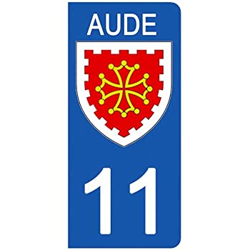 aux Rayons UV. 89 Stickers recouvert dun pelliculage sp/écifique pour Resister aux intemp/éries Blason YONNE- Stickers Garanti 1 an DECO-IDEES 2 Stickers pour Plaque dimmatriculation