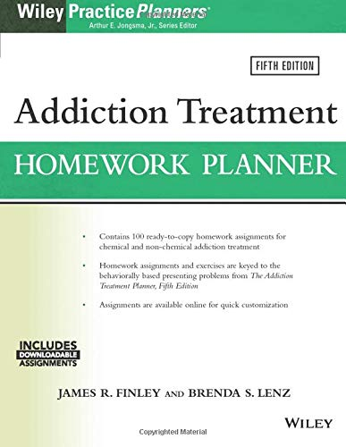 Addiction Treatment Homework Planner (PracticePlanners)