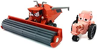 Pixar Cars Toys Diecast Frank and Tractor Metal 1:55 Scale