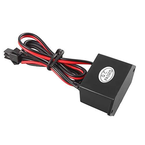 N / E 1 Uds para Cable de lámpara electroluminiscente Negro 12V...