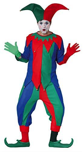 Fiestas Guirca Bouffon Adulte l 52-54 Costume pour Adulte